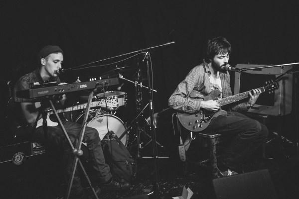 Fog Lake With Derek Ashley (Synth, Guitar) The Ship 2014 Photo by Noah Bender