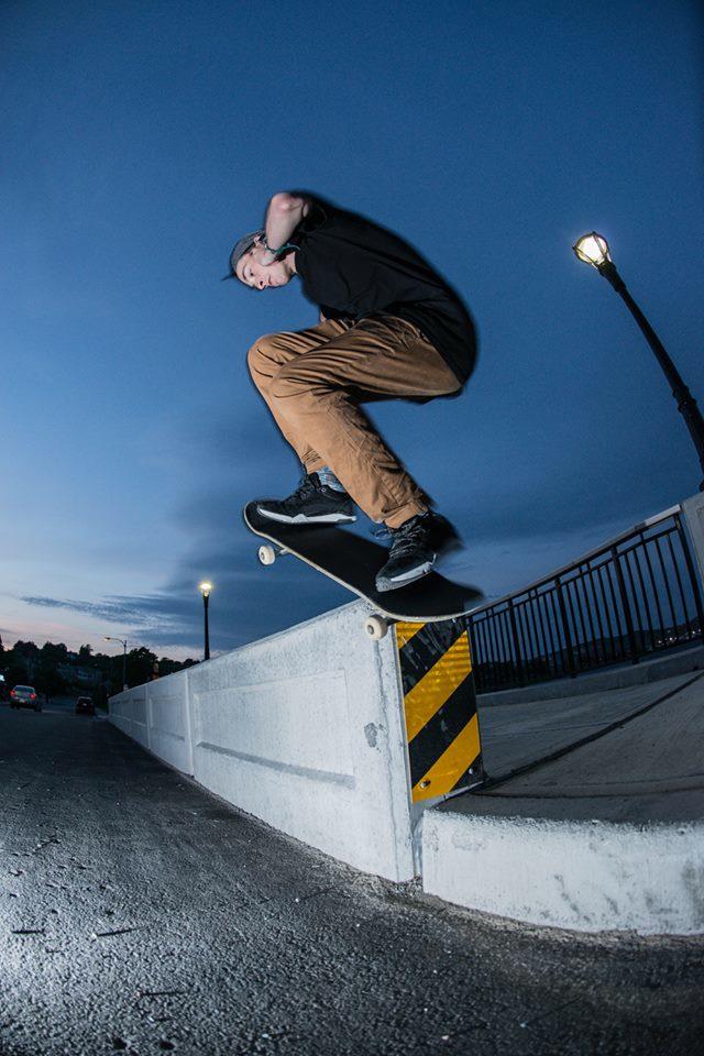 Ethan Murphy, Wallie. Photo by Adam Lannon
