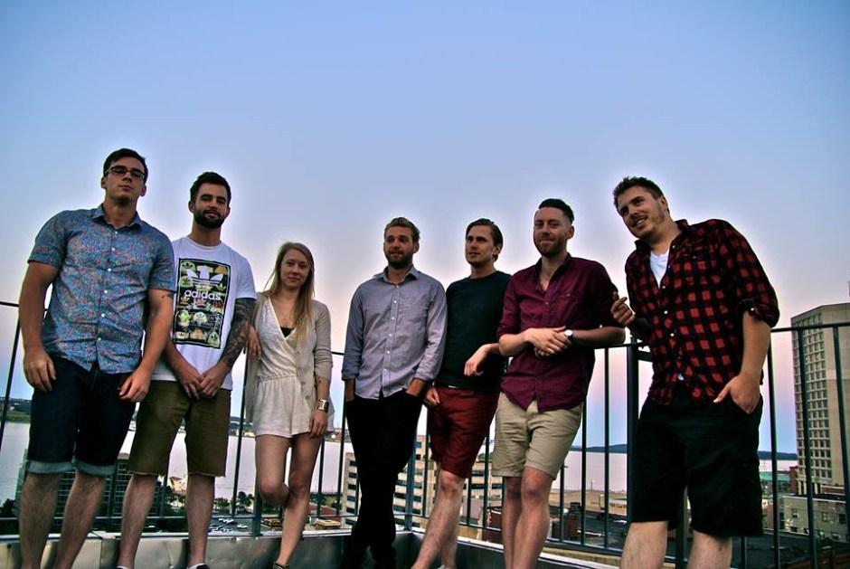 From Left to Right: Eddie Spriggs, Braden Nelson, Shileen Gillis, Josh Horner, Devon Bennett, Adam Ritchie, Daniel Bennett. Photo by: Joe De la Plante