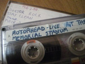 The Bootleg Cassette, Photo by Rennie Squires