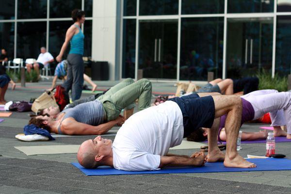 Setu Bandhana pour le yoga