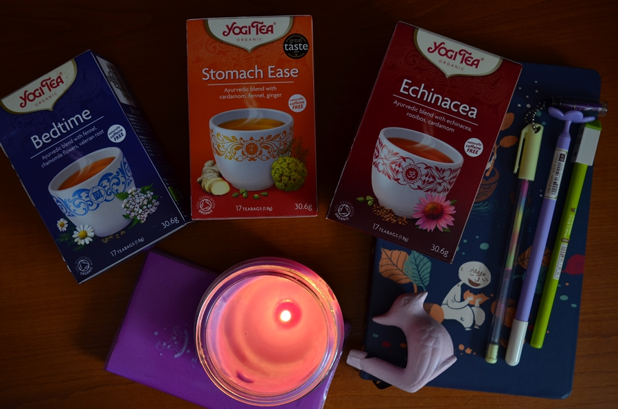 ceaiuri yogi tea carnetele lumanare