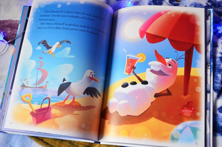 carte audiobook regatul de gheata disney editura litera mica