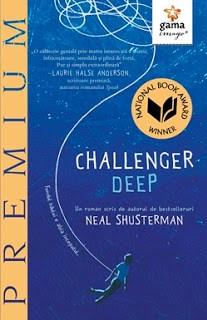 coperta carte challenger deep neal shusterman editura gama imago