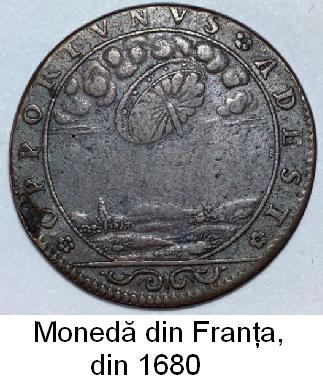 Franta - Moneda din 1680