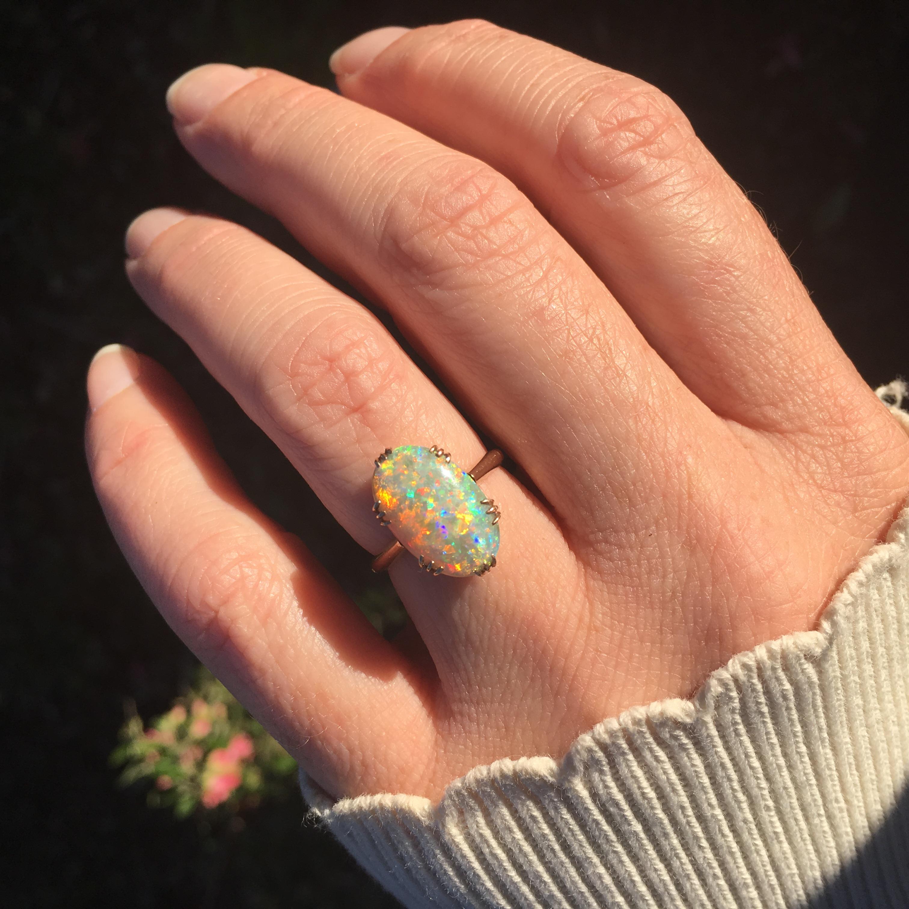 Small Australian Crystal Opal