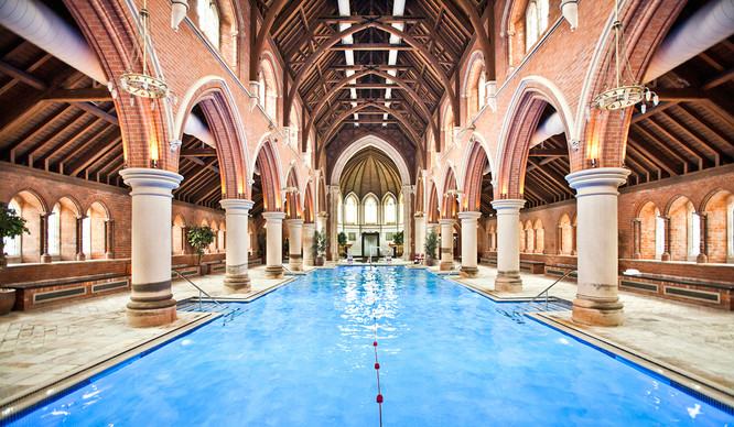 there 39 s an incredible swimming pool inside a north london church secret london