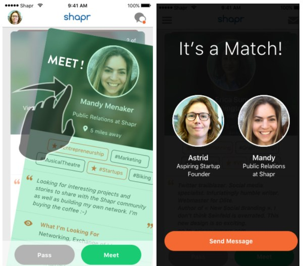 Shapr-screenshots