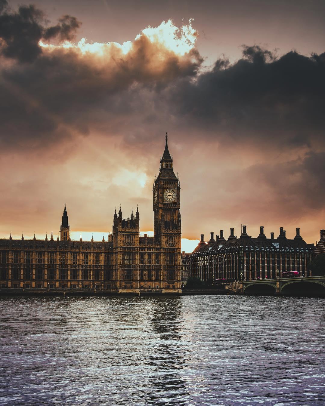 Big Ben Photo sunset