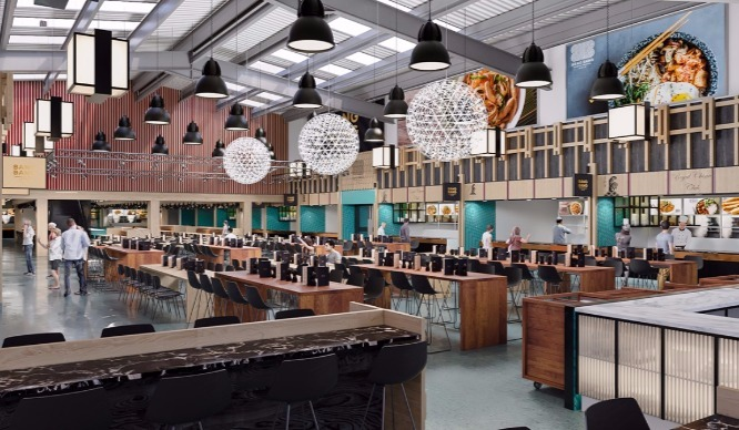 London 39 s biggest asian food hall is now open and it might for Asian cuisine london