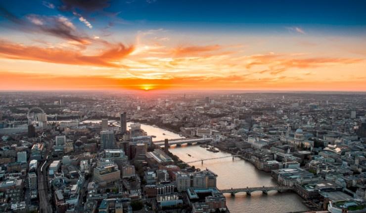 Sunset-shard-london-corona-pop-up