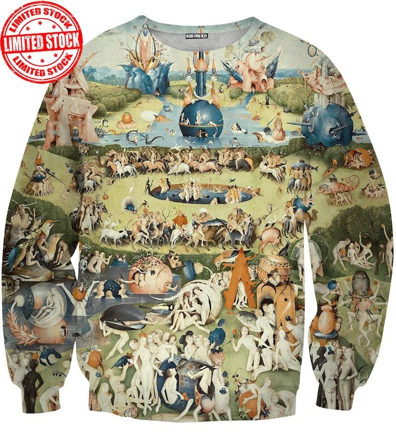 Garden of Earthly Delights Bosch Sweatshirt