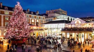 Christmas Tree at Covent Garden