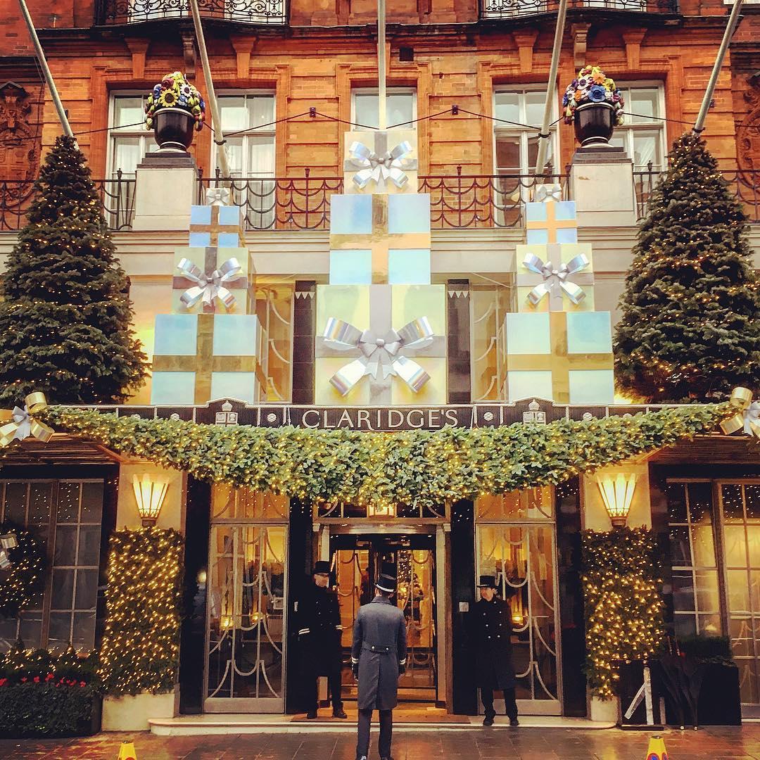 Claridge's Hotel Christmas