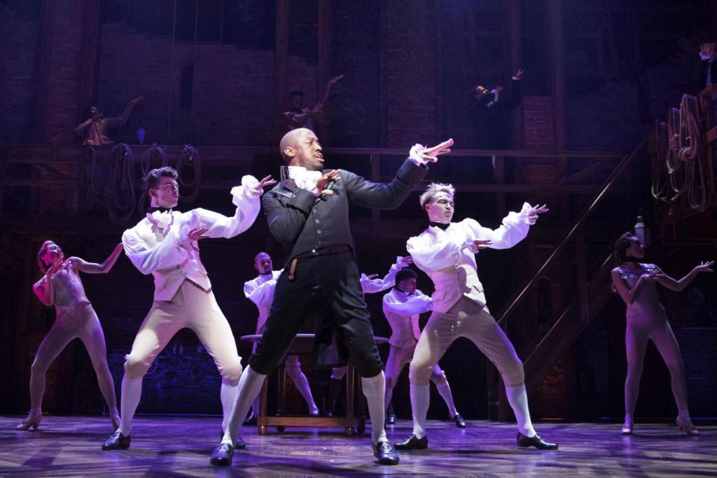 Gules Terera As Aaron Burr In Hamilton London