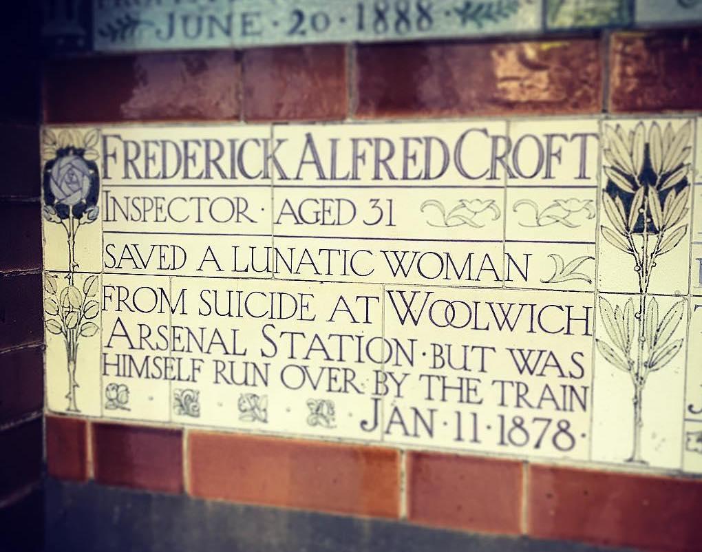 Frederick Alfred Croft Postmans Park