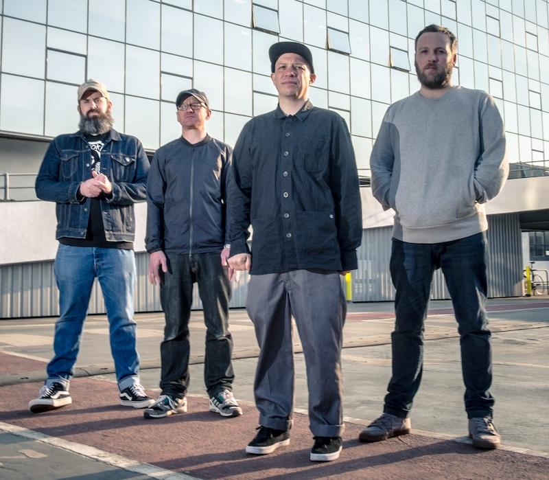 Mogwai Band playing London Meltdown
