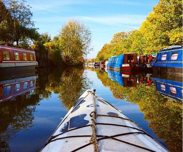 Boat trips in London - Moo Canoes