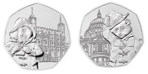 paddington bear 50p coins # 0