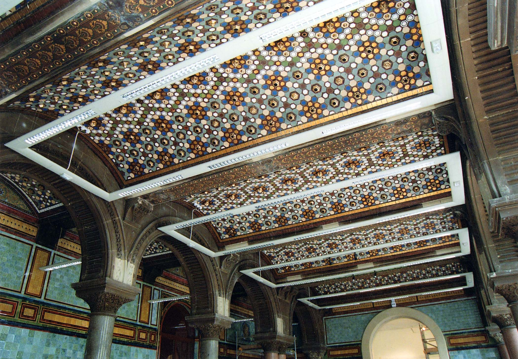 Leeds Central Library Tiled Hall The Secret Library