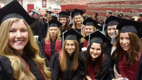 """Hoping that all of these ladies' overseas experiences were as wonderful as mine! Loved being able to """"graduate"""" with such an amazing set of people."""