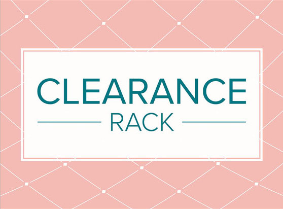 New Products Added to Clearance Rack
