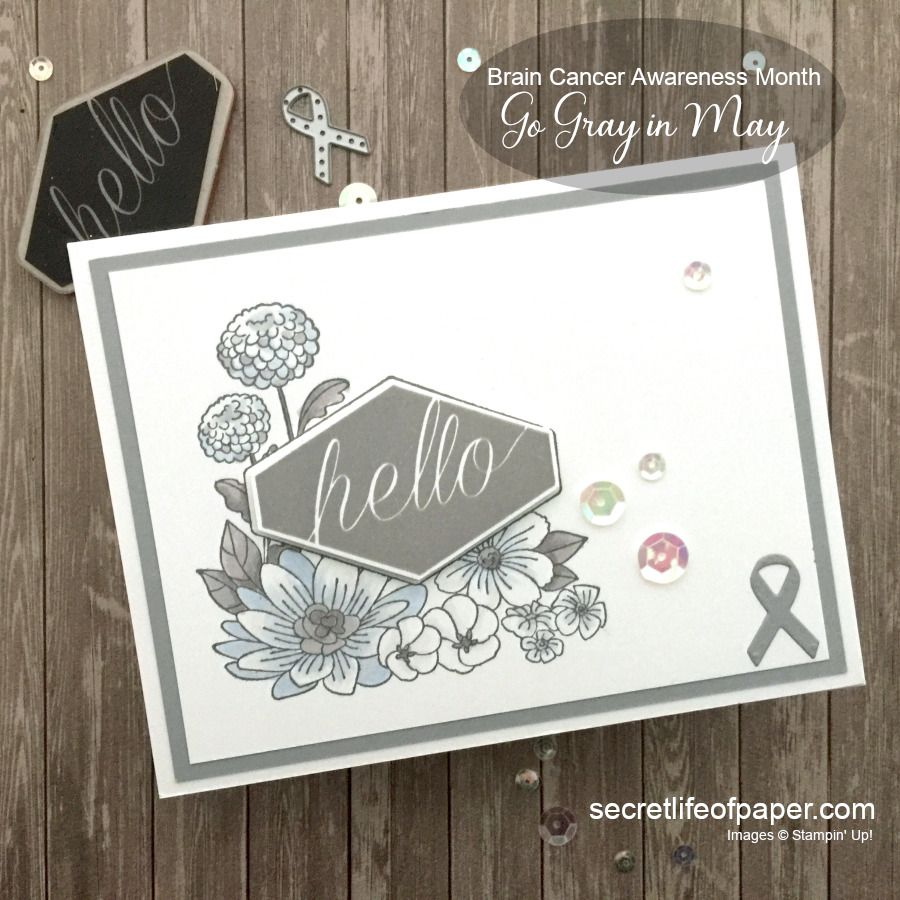 Stampin Up Accented Blooms Support Ribbon