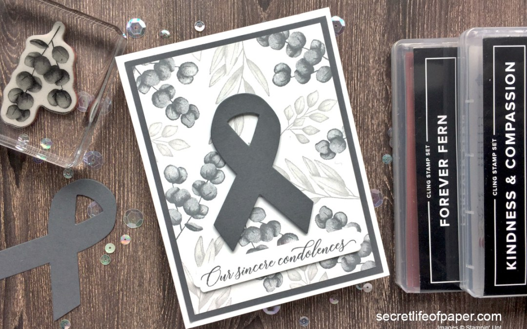 Stampin Up Sneak Peek and Brain Cancer Awareness