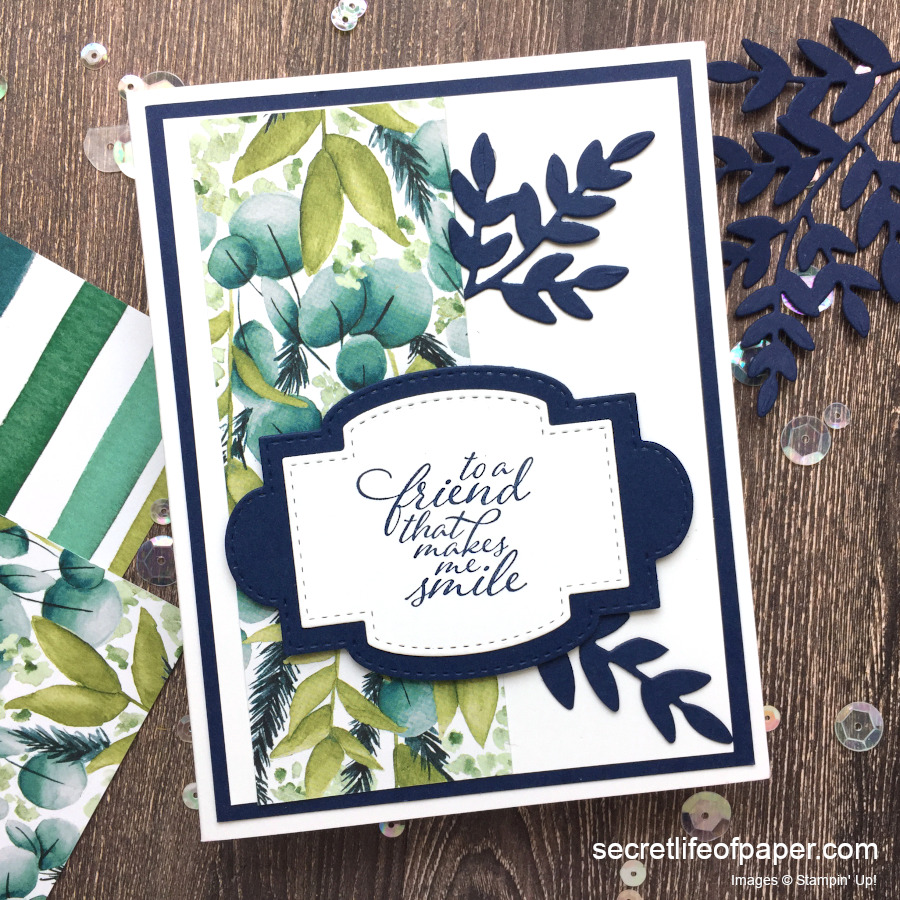 Stampin Up Forever Greenery
