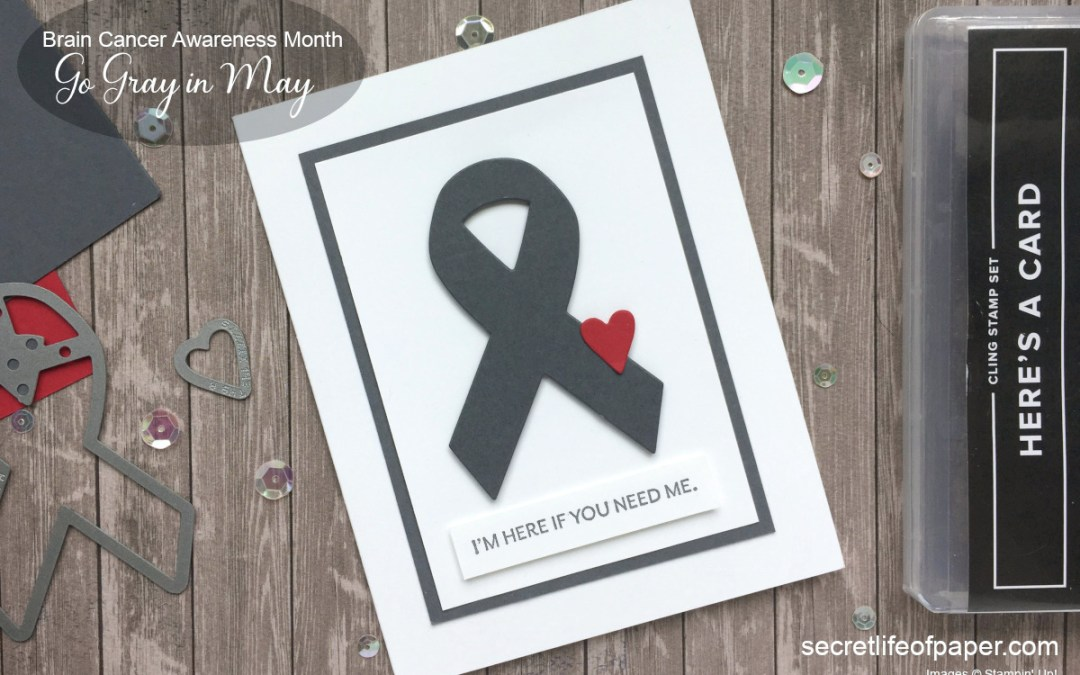 Go Gray In May – Support Ribbon Dies
