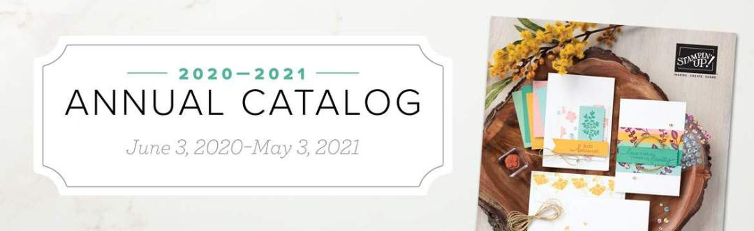 NEW 2020-2021 Stampin Up Annual Catalog