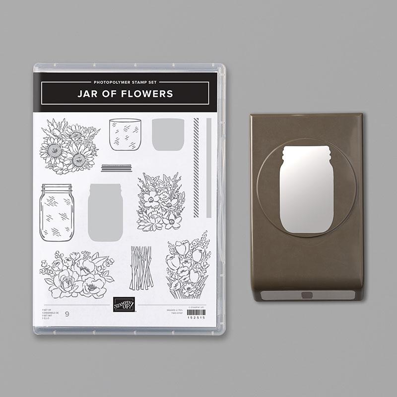 Stampin Up Jar of Flowers Bundle