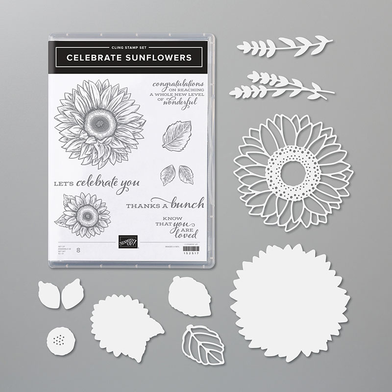 Stampin Up Celebrate Sunflowers Bundle