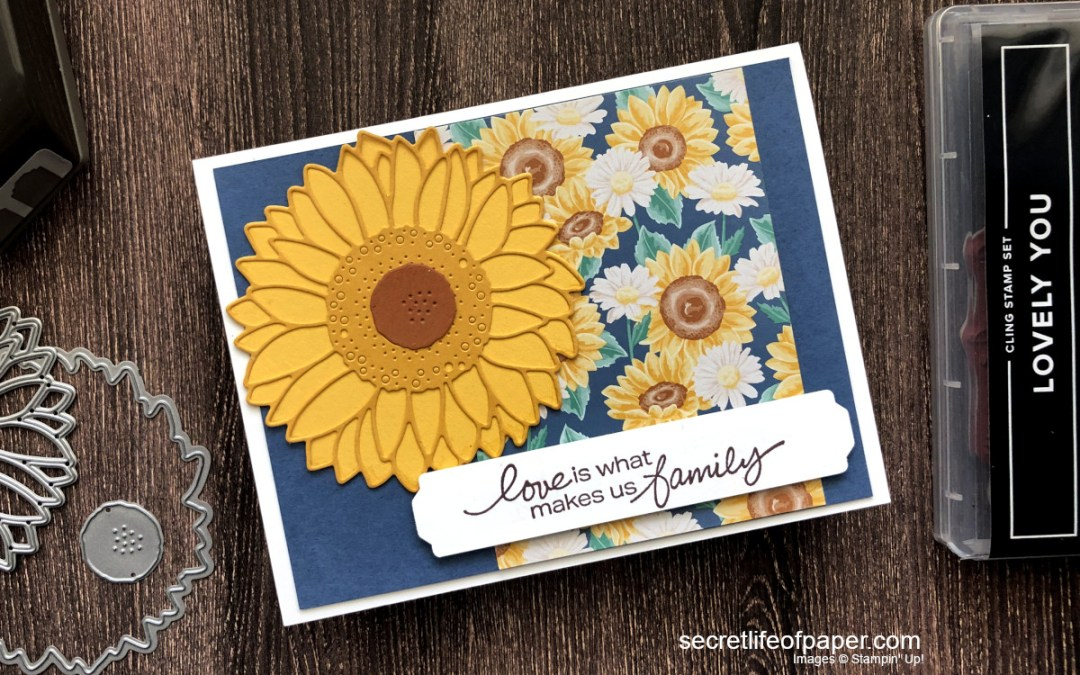 Lovely You Bundle with A Sunflower
