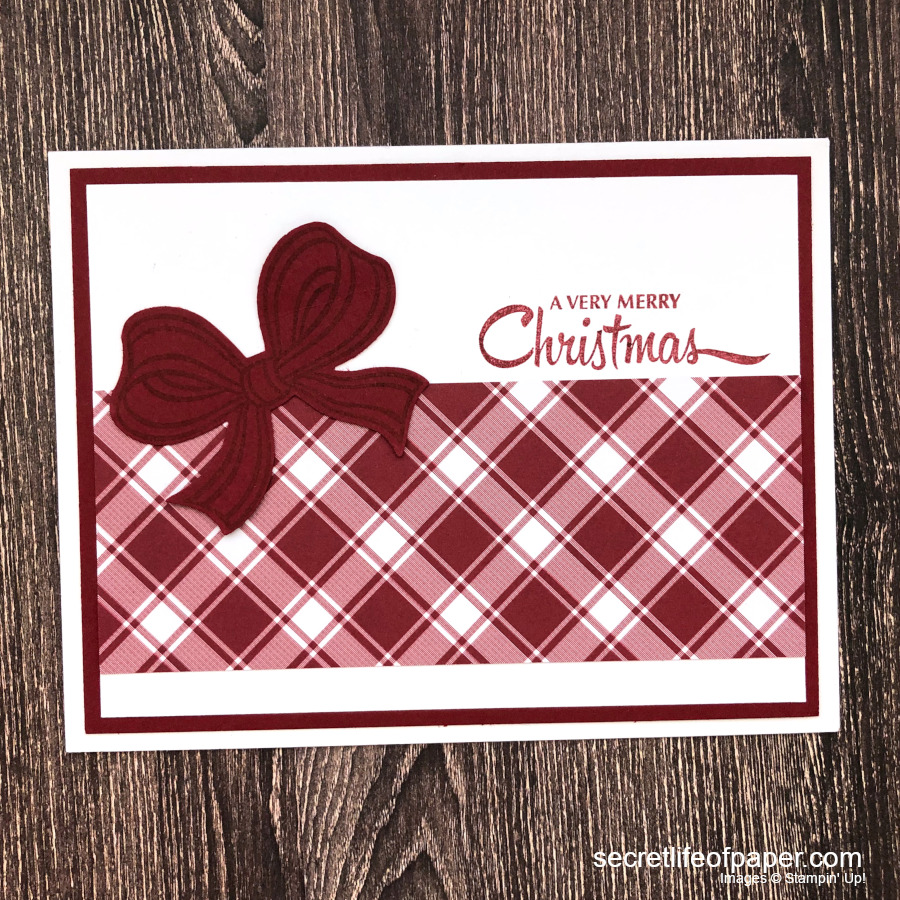 Stampin Up Gift Wrapped Christmas