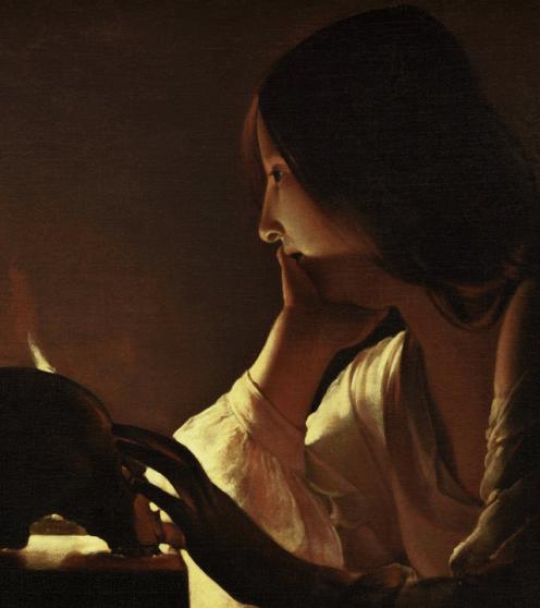 de La Tour - The Repentant Magdalen