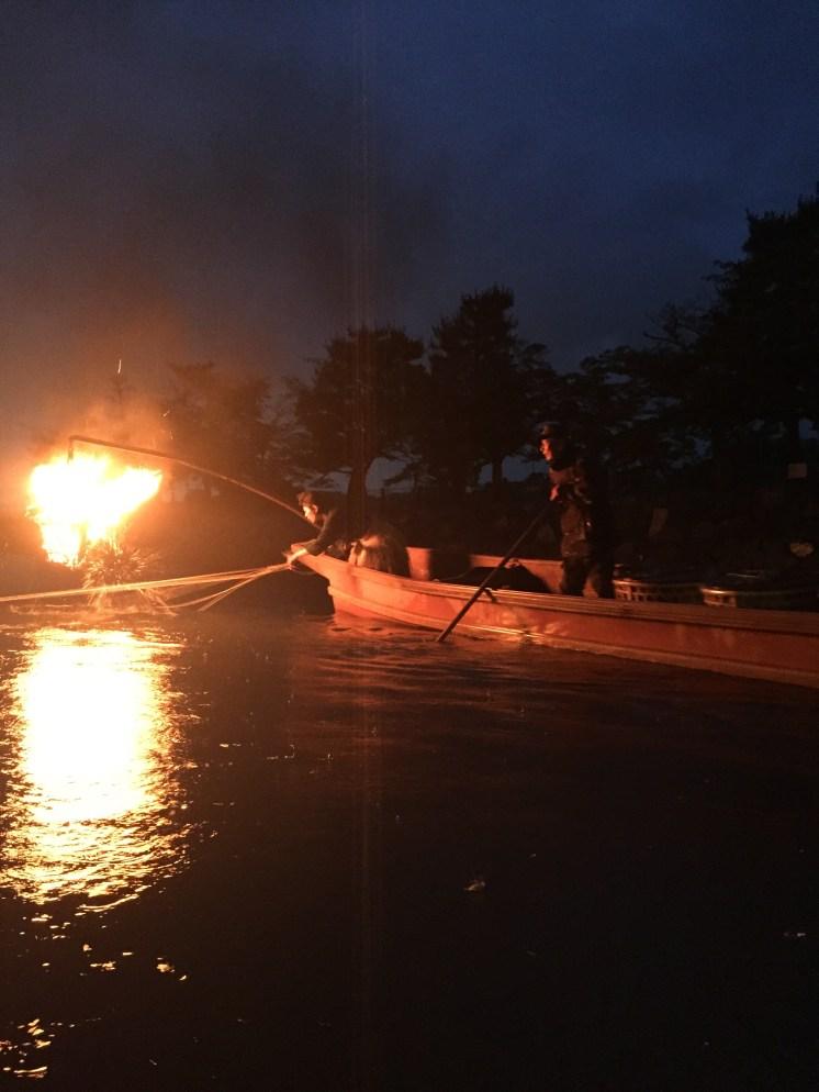 Uji-gawa River/Cormorant Fishing in Uji-gawa River