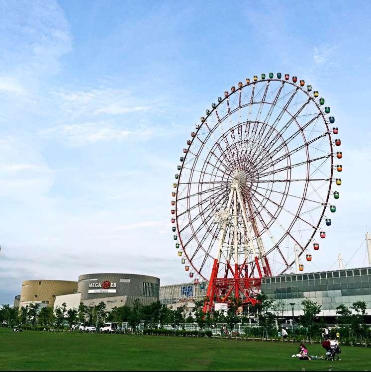 Daikanransha - Odaiba Ferris Wheel - Tokyo itinerary