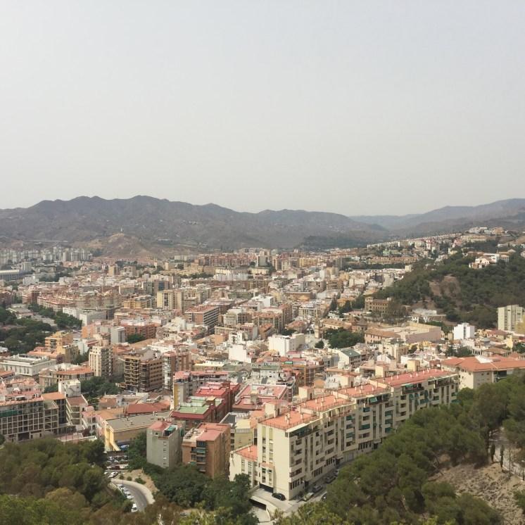 View from Castle of Gibralfaro