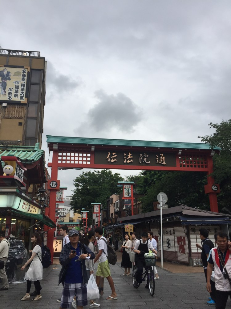 Shopping street Asakusa