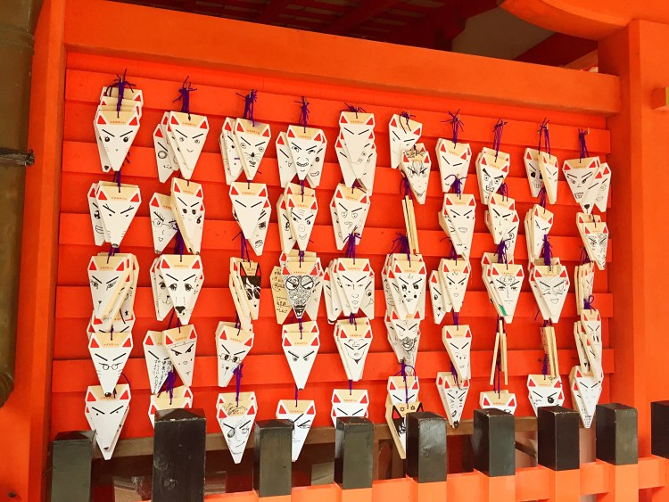 Ema display at  Fushimi Inari - Kyoto 1 Day Itinerary