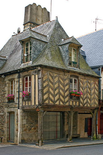 Half-Timbered House in Vitre