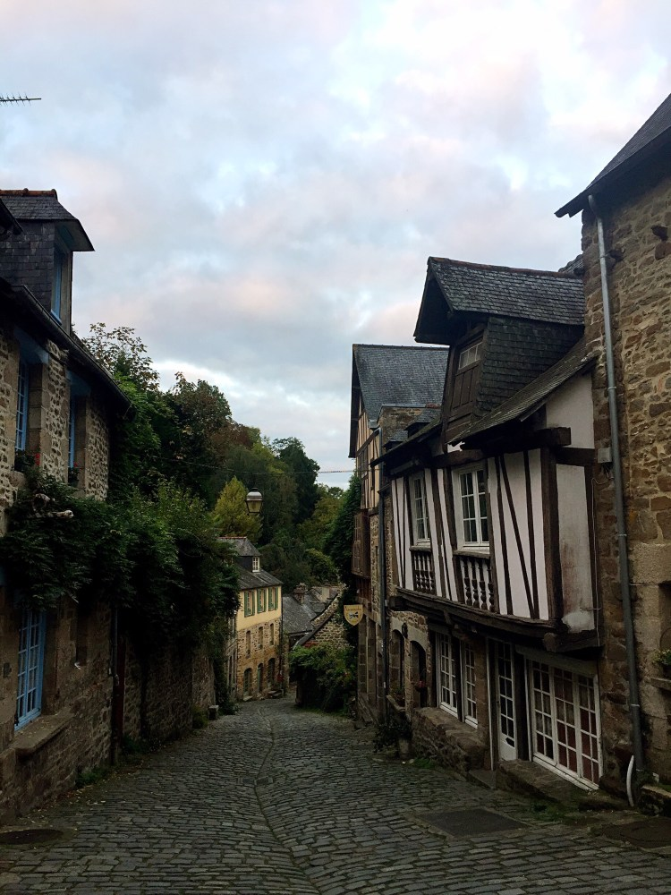 Half-timbered houses - Medieval town of Dinan