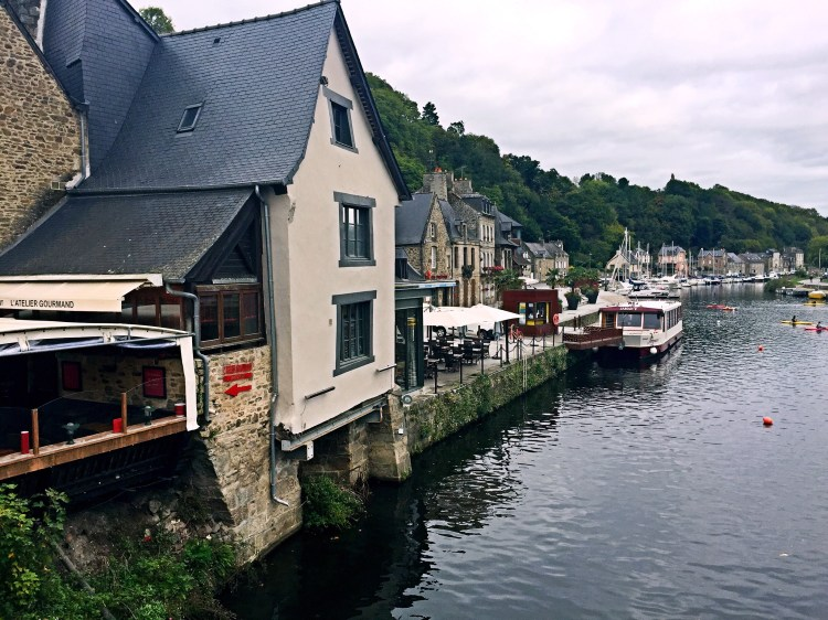 reperie by the river Rance - Medieval town of Dinan