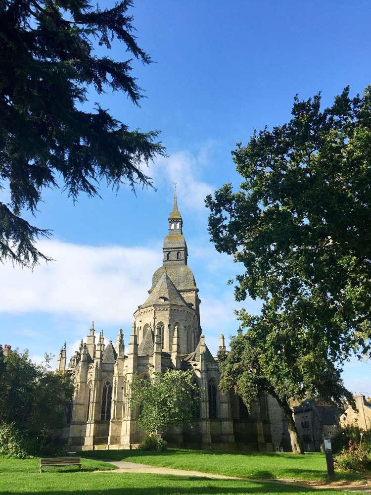 Basilica Saint Sauveur - Medieval town of Dinan