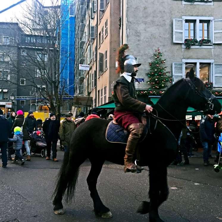Man on horse - Weekend in Geneva