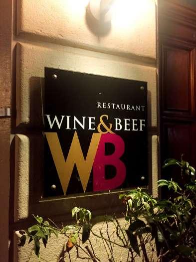 Wine & Beef restaurant - Weekend in Geneva