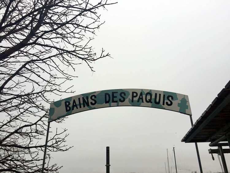 Bains des Paquis - Weekend in Geneva