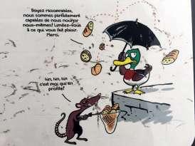 Do not feed the ducks - Weekend in Geneva