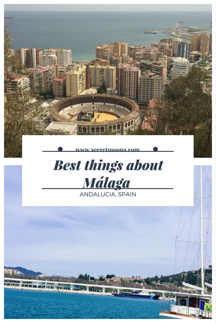 Best things about Malaga - pin